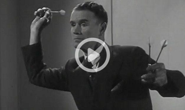 Darts With Champion Jim Pike (1946)