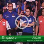 日本 VS 新加坡|2019 PDC 世界盃 Round 2