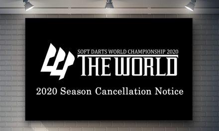THE WORLD 2020 賽季取消公告