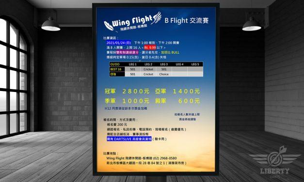 2021 Wing Flight 板橋館 B Flight 交流賽